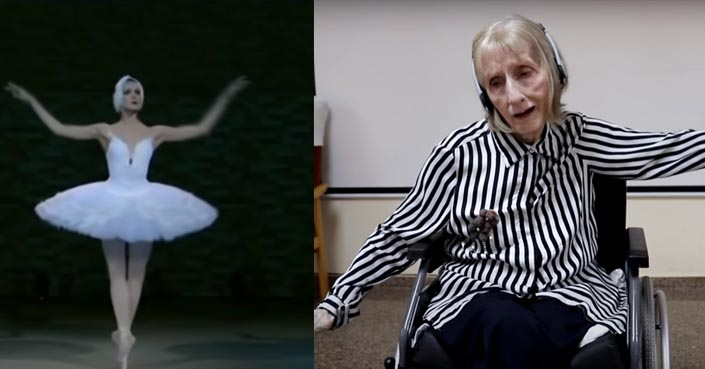 ⏯️ Emotiva reacción de bailarina con Alzheimer con esta canción – Frontal  Noticias