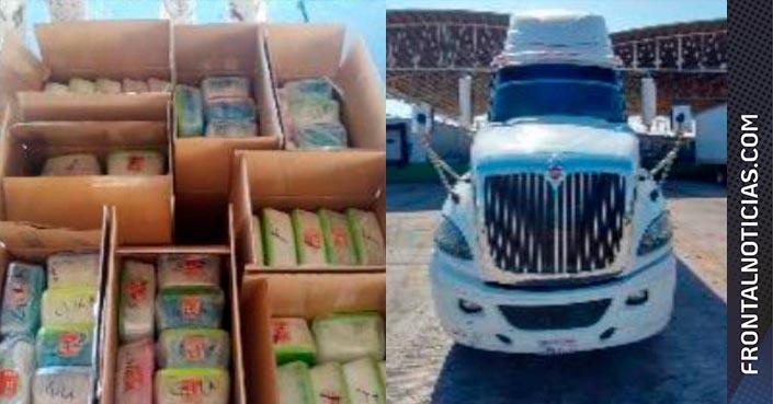 Encuentran millonario cargamento de droga en Sonora