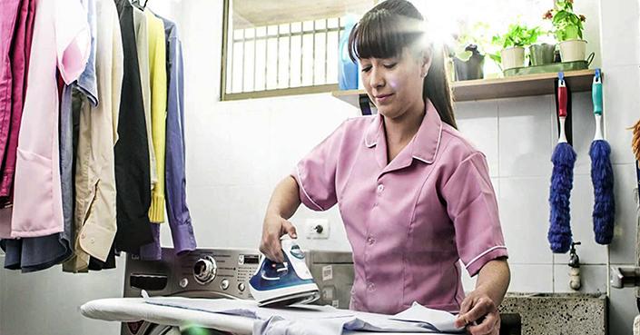 El trabajo doméstico, actividad considerada como sobreexplotación laboral