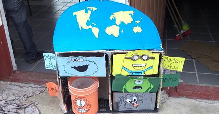Procesan basura y producen composta en Geoparque