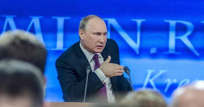 Advierte Putin a Occidente de no meterse con los intereses de Rusia