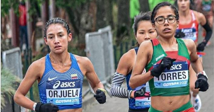 Debuta Daniela Torres en maratón en Italia y da marca a Juegos Olímpicos