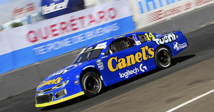 De Alba Jr. busca recortar diferencia con el líder de la NASCAR Challenge